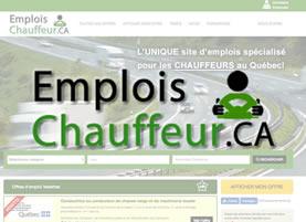SITE D'EMPLOI POUR CHAUFFEURS