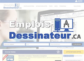SITE D'EMPLOI POUR DESSINATEURS